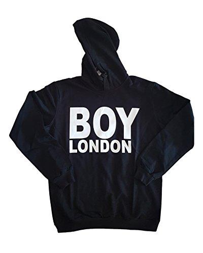 Boy London - Sudadera con capucha - para mujer negro