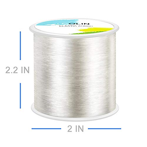 Strong Crystal Elastic Beading Line Cord Thread String for DIY Necklace Transparent