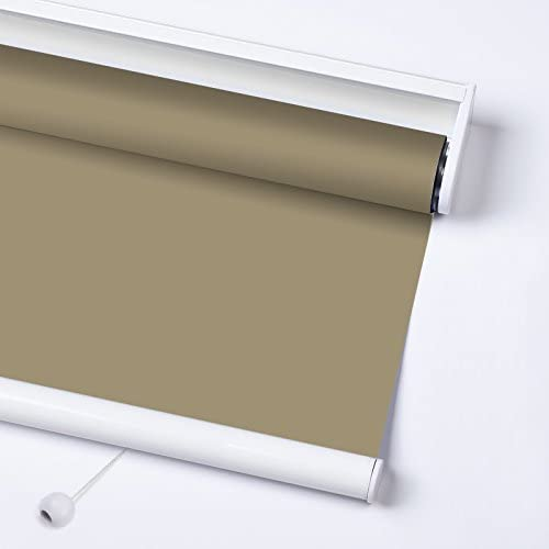 ZY Blinds Cordless Roller Shades Light Filtering Custom Made Any Size from 20-78inch Wide UV Protection Enery Saving Window Shades Blind