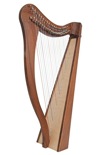 Roosebeck Heather Harp TM, 22 Strings by Roosebeck