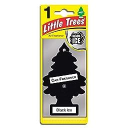 Little-Trees Black Ice Little Tree Air Freshener- 16 Pack