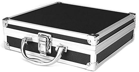 Alextry Caja de Herramientas portátil de Aluminio, Caja de ...