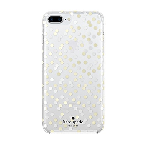 Kate Spade New York iPhone 7 Confetti Dot Silver Gold