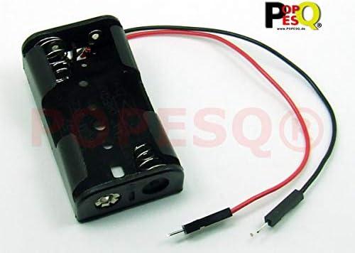 POPESQ® - Adaptador/Adapter Caja para Pilas Soporte Pilas/Battery ...