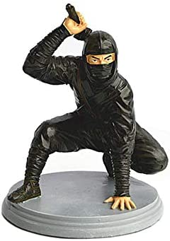 Amazon.com: SDBRKYH Soldier Ninja Sculpture, Ninja Statue ...