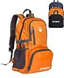 Roam Packable Backpack – Lightweight Foldable Daypack Water-Resistant, 25L, – Durable Tear-Resistant Nylon Weave – Daypack for Travel, Hiking, Backpacking, Camping, Outdoors, Beach,