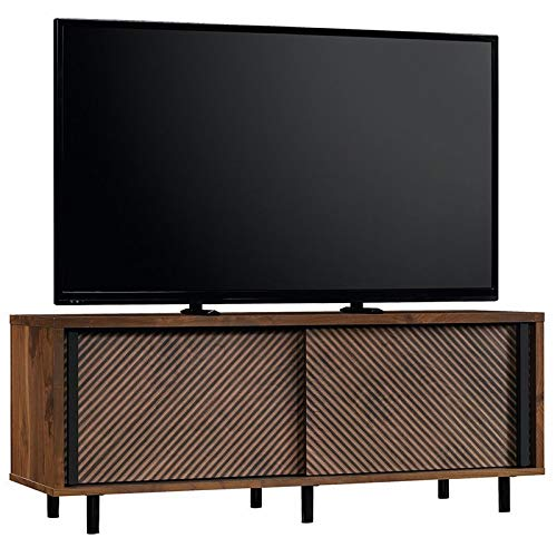 Sauder 420833 Harvey Park Entertainment Credenza, For TV's up To 60'', Grand Walnut finish by Sauder