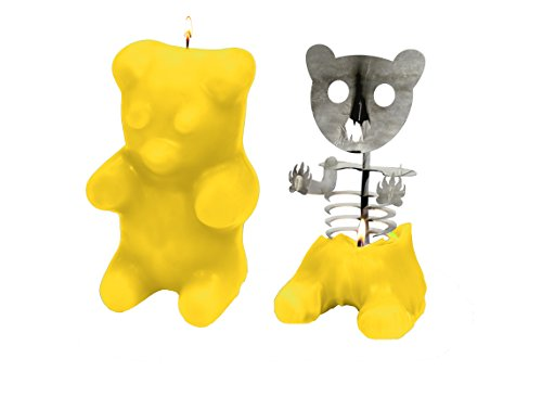 Gummy Bear Candle - Yellow