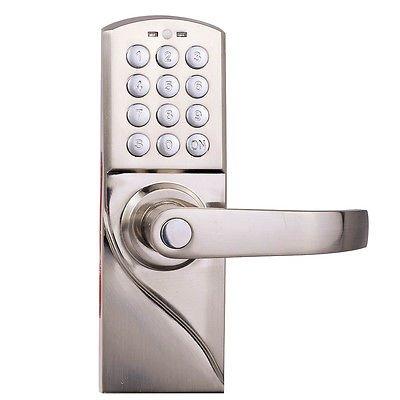 digital-electronic-code-keyless-keypad-security-entry-door-lock-right-handle-new