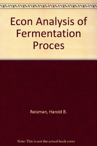 Econ Analysis of Fermentation Proces