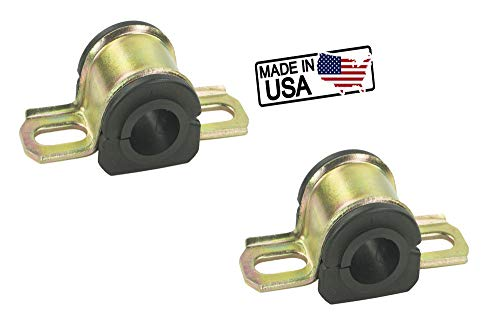 Suspension Dudes (2) for 2011-2018 Ford Explorer Rear Stabilizer Sway Bar Bushings Made in The USA ()