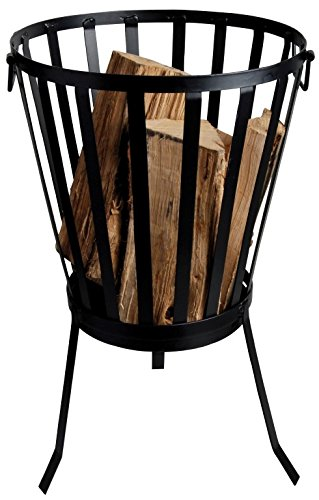 (Esschert Design USA FF69 Outdoor Metal Firebasket)