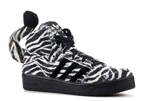 adidas originals jeremy scott JS ZEBRA mens hi top trainers G95749 sneakers shoes (uk 7.5 us 8 eu 41 - Uk Jeremy Scott