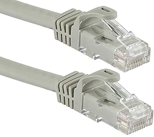 Sadow LAN Ethernet Cable CAT6 Internet Cable RJ45 LAN Wire High Speed Patch Computer Cable  White   1.5 Meter