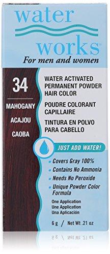 Waterworks Permanent Powder Hair Color #34 Mahogany