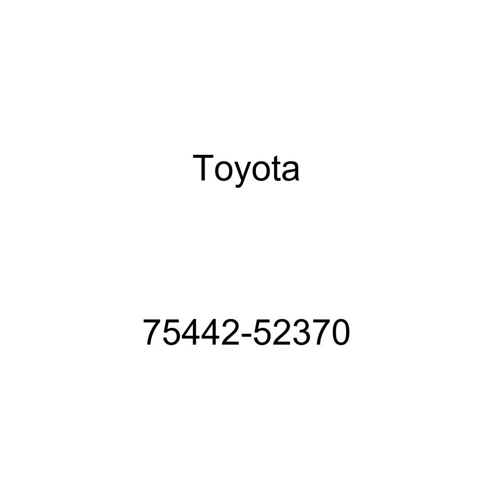 TOYOTA 75442-52370 Luggage Compartment Door Name Plate