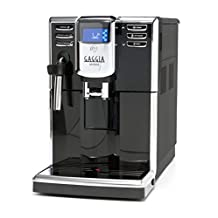 Gaggia Anima Coffee and Espresso Maker, Includes Steam Wand for Manual Frothing for Lattes and Cappuccinos with Programmable Options