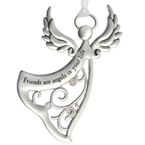 Ganz Angels By Your Side Ornament - Friends are angels in your life