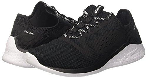 Course noir 9090 Asics Blanc Fuzetora De Femmes Chaussures Noir Pour S5wcUqv5xB