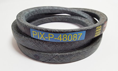 Pix Belt With Kevlar Made To FSP Specifications Replaces Scag RH Blade Drive Belt 48087, 48