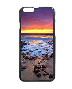 iPhone 6 Case - Karrara Sunset Patterned Protective Skin Hard Case Cover for Apple iPhone 6 with 4.7 inch - Haxlly Designs Case