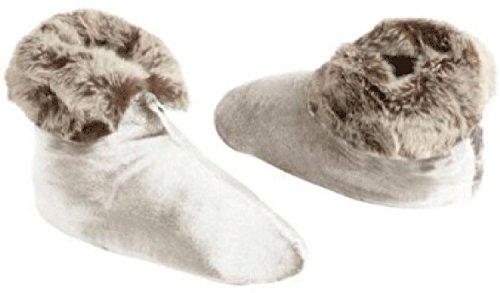 Northpoint Womens Ardour Velvet Berber Slipper Boots (Lar...