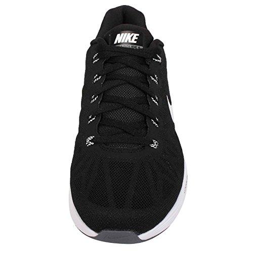 defbcb204393 Nike Lunarglide 6 Womens Running Shoes 654434-001 Black Pure Platinum-Cool  Grey-
