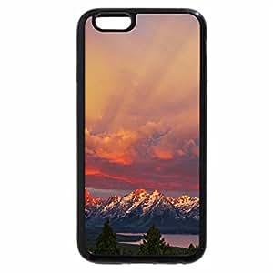 iPhone 6S / iPhone 6 Case (Black) magnificent sunrise over grand teton range