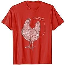 Guess What Chicken Butt T-Shirt funny vintage joke shirt