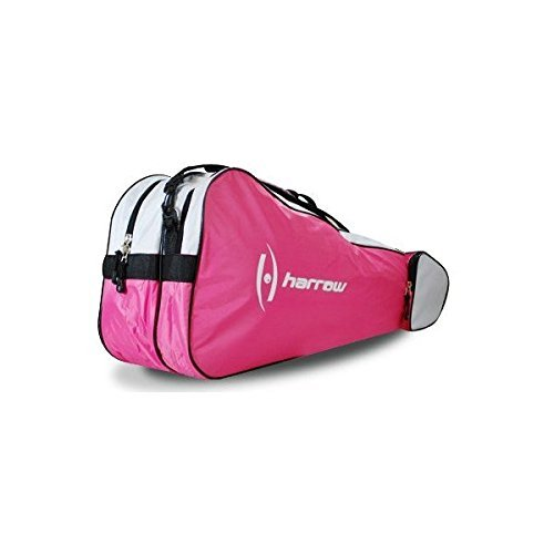 Harrow 3 Racquet Bag (Pink/White)