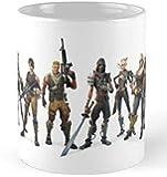 fortnite battle royale white ceramic mug