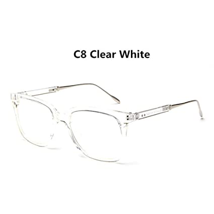 c700625e19 YMTP Gafas Ópticas Cuadradas De Gran Tamaño Retro Marcos para Hombres Y  Mujeres Lentes Transparentes Anteojos