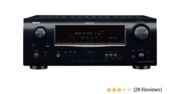 Amazon.com: Denon AVR-1609 7.1-Channel Multi-Zone Home Theater Receiver (Discontinued by Manufacturer): Home Audio & Theater