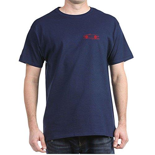 CafePress Alfa Romeo Giulietta Spider Duetto 100% Cotton T-Shirt Navy