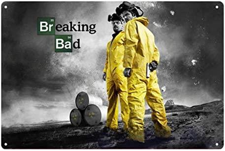 HMMY Cartel Metalicas Decoración 20 * 30 Cm Breaking Bad ...