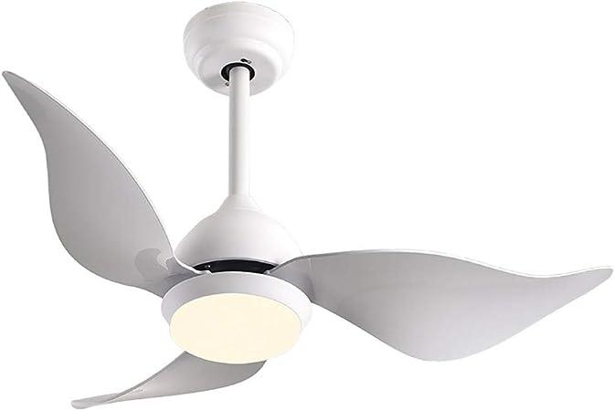 Vinmin LED Ventilador de Techo Ligero, Macaron Ventilador de Techo ...