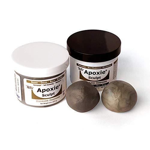 2 Part Modeling Compound A /& B Black Apoxie Sculpt 4 lb