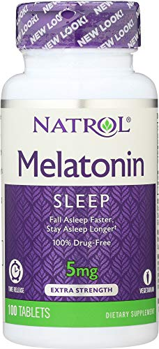 Amazon.com: Natrol (NOT A CASE) Melatonin TR Time Release 5 mg, 100 Tablets: Home & Kitchen