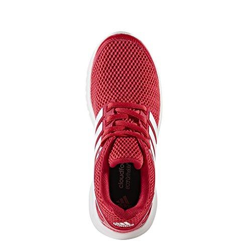 adidas Unisex-Kinder Energy Cloud K Fitnessschuhe, Grau Rot (Escarl/Ftwbla/Rojbas)