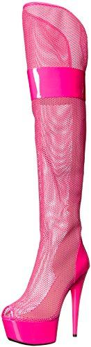 Scarpe Ellie Donna 609-edera Boot Fucsia