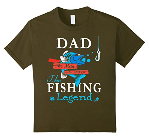 DAD The Man The Myth The Fishing Legend T-Shirt