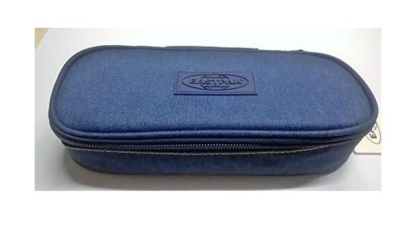 Estuche ovalado Eastpak Limited Edition Smemo Azul EK 71748r: Amazon.es: Oficina y papelería