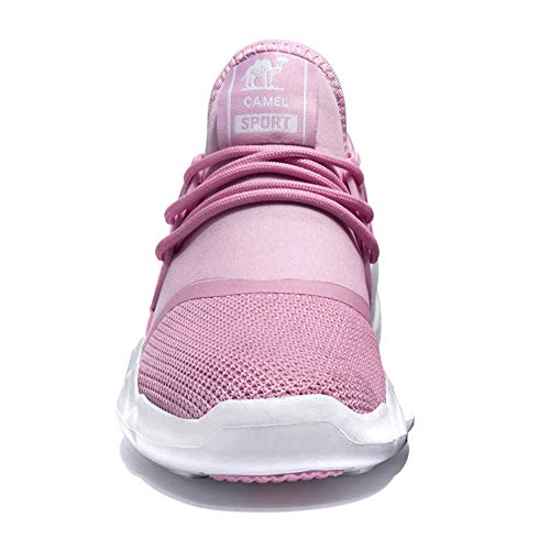 Rose Sportive Chaussures Course Jogging Trail Filles De Randonne Route Femmes Gym Pour Chameau Entraneures Piste Mode Baskets axfF8x
