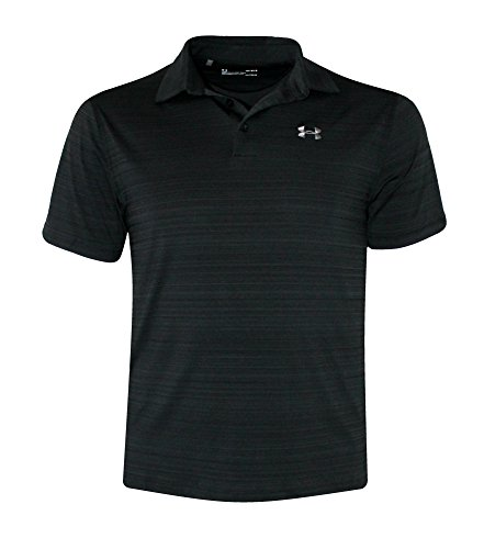 Under Armour Men's Performance Polo Athletic Shirt (S, Black)