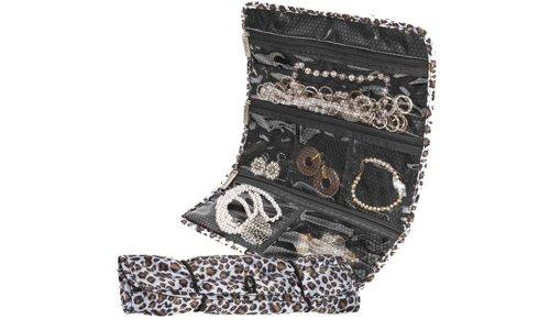 Travelon Jewelry Roll, Black, One Size