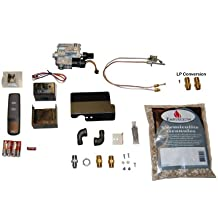 Sure Heat RVS-304 Safety Pilot Conversion Kit for Remote Control Convenience of Manual Vented Gas Log Sets