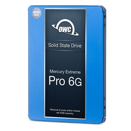 OWC Accelsior S PCIe Adapter for 2.5'' SATA III SSD Drives and OWC 2.0TB Mercury Extreme Pro 6G SSD by OWC