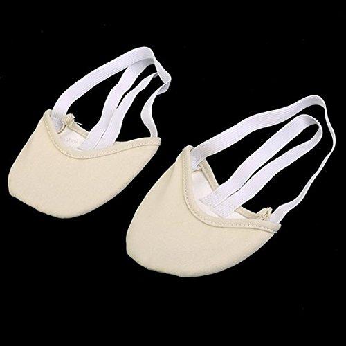 Ballet Canvas Dance Soles Pirouette Shoes Dance Shoes Ballet beige M Half TOOGOO R IRRgrO