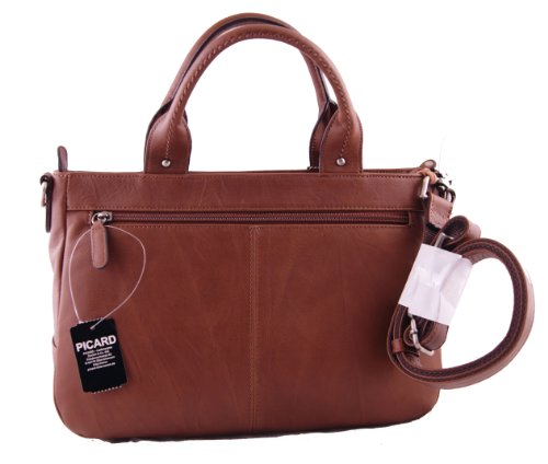 Picard Way piel Shopper 31cm, unisex, marrón castaño, 31 cm marrón castaño