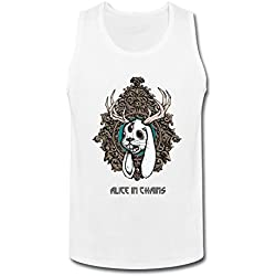 SUNRAIN Men's Alice In Chains Band Tour Tank Top